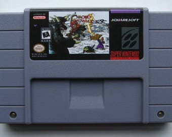 Chrono Trigger - Super Nintendo NTSC Reproduction Cartridge - UK Item