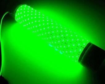 Green Blob-15000 Underwater Fishing Light w/ Battery Clips (15000 Lumens)
