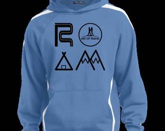 ROAM Men's Sweatshirt with Jersey Lined Hood