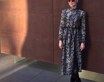silk-wool dress