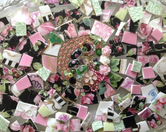 BRoKeN CHiNa MoSAiC TiLeS~~SHaB~~PaRis PiNK PReTty~~BLinGLiouS