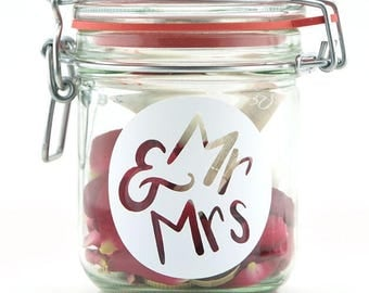 Money gift - voucher packaging 'MR & MRS'