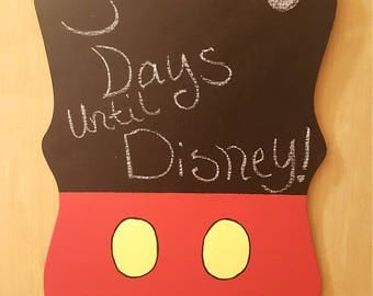 Mickey Mouse inspired Chalk Board