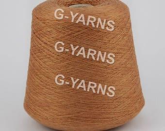 Cashmere/silk yarn on cone, hand knitting, machine knitting, per 100 g