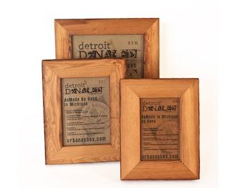 Detroit De-Nailed™ T2 Reclaimed Antique Wood Photo Frames