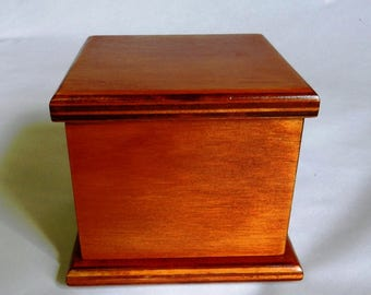 Small Pet Ashes Box