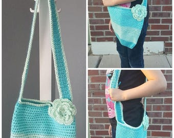 Crochet Child Cross-body Purse