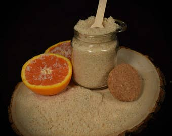 All Natural Sugar Scrub ~ Wild Orange