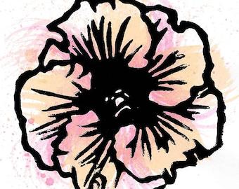 Hibiscus Print 05