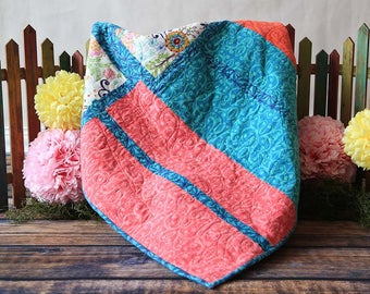 """Flannel Quilt """"Box Trot"""""""