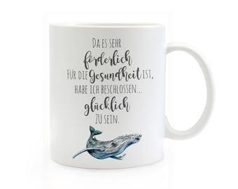 Gift Cup be happy with Whale TS324