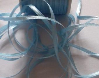 2mm Silk Ribbon BLUE