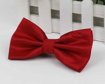 Red bow tie - Bowtie