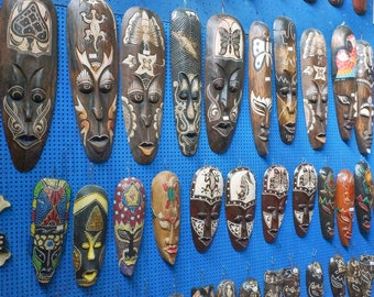 Tribal Masks - Costa Rica