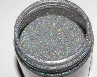 Unicorn tear glitter nail polish
