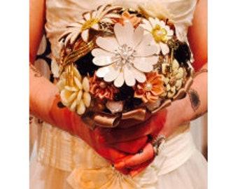 Brooch bouquet Ilona