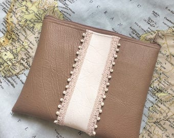 Beaded Patch Clutch