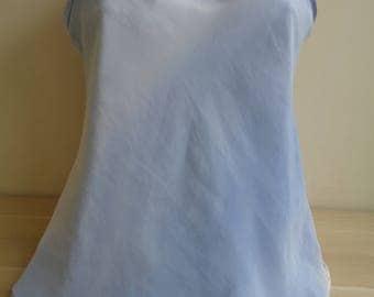 Blue vintage Camisole, BLUE Vintage Lingerie, Soft material Camisole