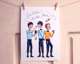 Star Trek - Print - TOS