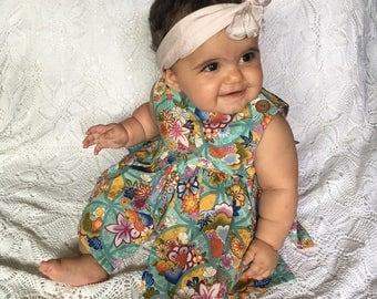 Baby Girl Dress Handmade for Summer