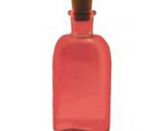 8.5 oz Pink Rectangle Glass Bottle for Reed Diffuser