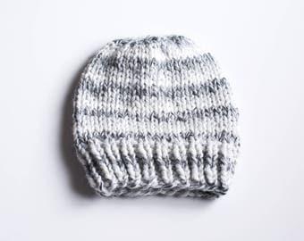 Chunky Knit Basic Beanie, Knit Hat, Newborn Baby Hat, Ladies Womens Mens Kids Beanie, Baby Gift, Chunky Wool, Wool Blend Beanie