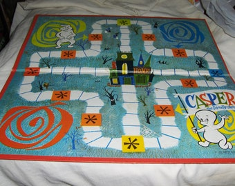 Casper The Friendly Ghost game board