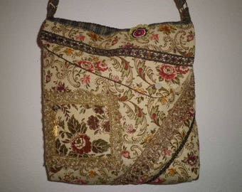 Shoulder bag, Brocade