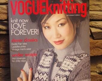Knitting Magazine Patterns - Vogue Knitting Magazine International, Winter 2009/10