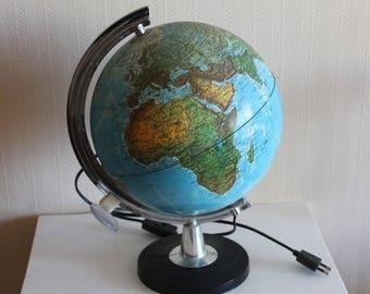 Globe - globe - lamp vintage