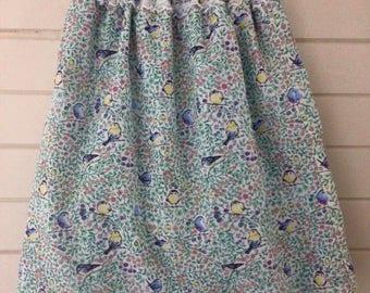 Long winter bubble skirt