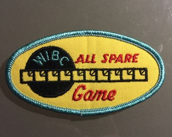 Vintage Bowling Patch (All Spare)