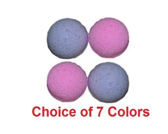 Sensual Amber Scented Pampering Bath Bombs - Set of 4
