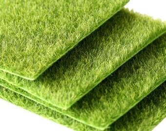Artificial Grass For Micro Landscape Mini Fairy Garden Decoration Dollhouse  Indoor And Outdoor Terrarium Gardening Props