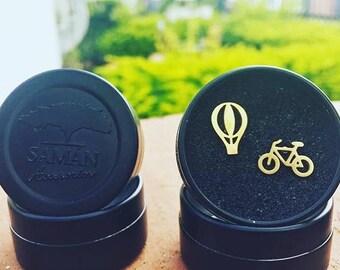 18K Gold Earrings Stainless Steel