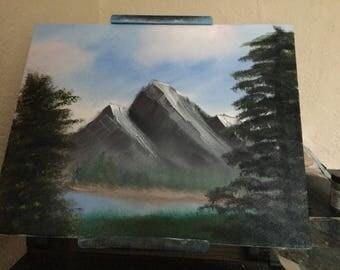 Twin peaks late summer