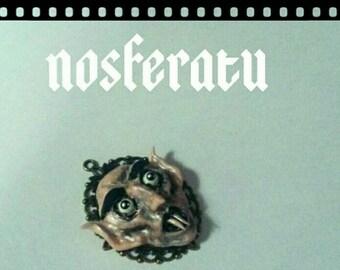 Handmade nosferatu pendant