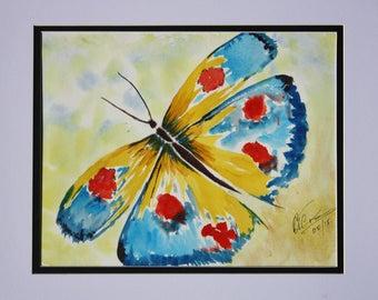 "Watercolour Artwork ""Butterfly"""