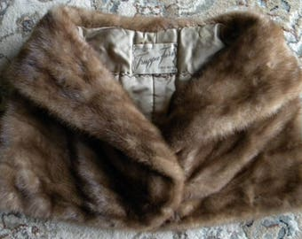 Beautiful mink stole/ shrug