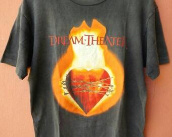 Vintage DREAMTHEATER Rock band T Shirt Rare