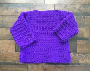 Vintage Handmade Sweater Size 12