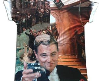 Leonardo DiCaprio: Gatsby/Titanic KiSS All Over T-Shirt