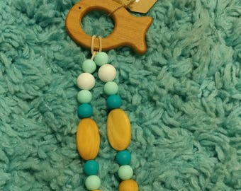 Baby Teether – Wood Shape Toy
