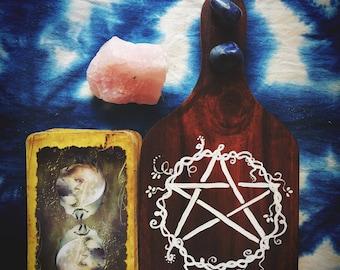 Pentacle Sacred Altar Board