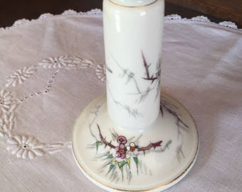 1880 Hand Painted Candle Stick