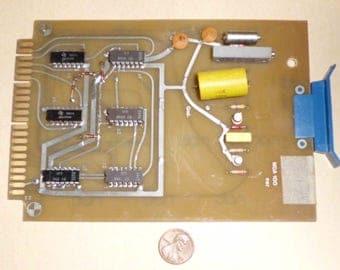Vintage 1970 Rare Oscillator/Scaler PCB Assembley #MDA100B1