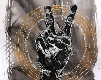 Keep the Peace Original Painting
