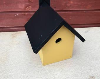 Handmade Birdhouse painted using Recycled Wood