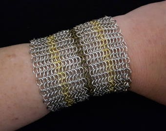 Chainmaille Cuff Bracelet