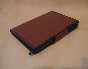 Handmade Leather Journal, Composition Book holder